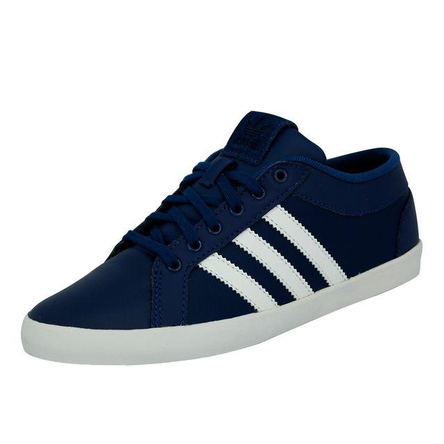 28bb068c1677 Adidas originals - Adria Ps 3S W Chaussures Mode Sneakers Femme Cuir Bleu - pas  cher Achat   Vente Baskets femme - RueDuCommerce