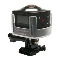 MONSTER VISION - camera de sport 360 ° resolution 1920 1040 en mode video ,wifi, carte sd 32g incluse