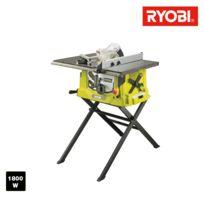 Ryobi - Scie sur table électrique 1800W 254mm - piètement rétractable et extension - RTS1800ES-G