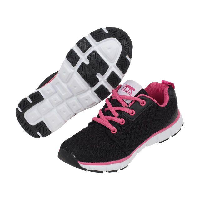 Airness Chaussures running mode Hunt noirrse girl Noir