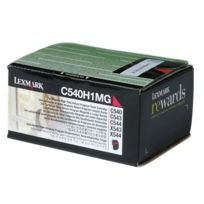 Lexmark - Toner 00c540h1mg magenta