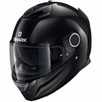 Shark - casque moto intégral en Carbone Spartan Carbon Skin Dka noir brillant 2XL