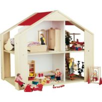 Rülke Holzspielzeug - RÜLKE Holzspielzeug 23122 Sonnenschein Maison De PoupÉE En Bois