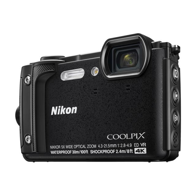 NIKON - Appareil photo compact étanche Noir - W300