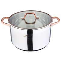 Bergner - Casserole Infinity Chef - 28X16.5CM 9.5L Inox- Induction