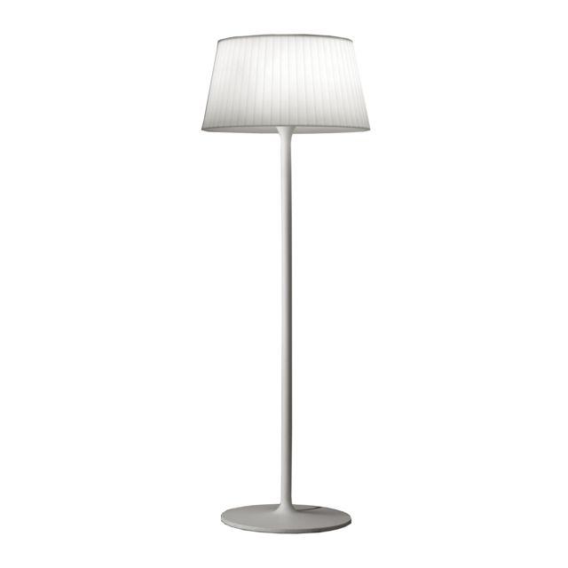 Lampadaire Plis Extérieur- weiß Ral9016
