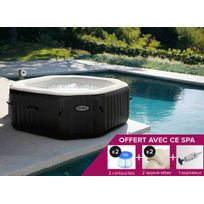 Intex - Spa gonflable PureSpa octogonal Bulles + Jets 6 places