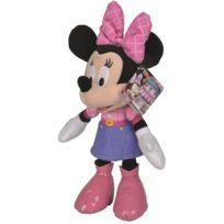 Nicotoy - Peluche Minnie Robe Violette 30 Cm - Peluche - Disney - Enfant