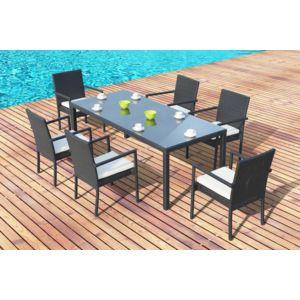 Design et Prix - Magnifique salon de jardin lugano 6, table + 6 ...