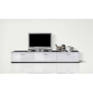 house and garden meuble tv design corano blanc pas cher achat vente meubles tv hi fi. Black Bedroom Furniture Sets. Home Design Ideas