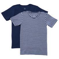 TEX - Lot de 2 T-shirts coton BIO manches courtes garçon
