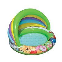 Intex - Piscine pour enfants Winnie l'Ourson avec pare-soleil