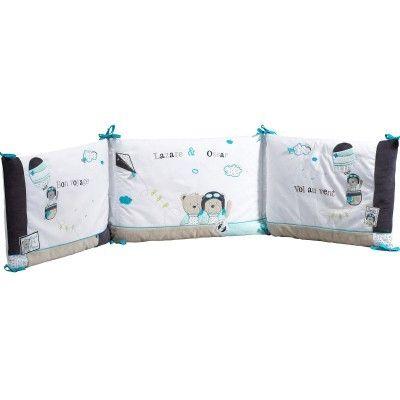sauthon tour de lit lazare pas cher achat vente tours de lit rueducommerce. Black Bedroom Furniture Sets. Home Design Ideas