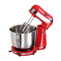 Domoclip - Robot pâtissier multifonction rouge Dop137R-DOP137R