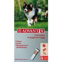 Advantix - Pipettes anti-puces chien moyen 10 à 25kg