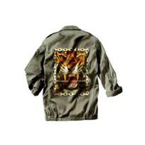 Magic custom - veste militaire tiger chains