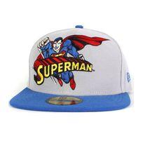 New Era - Casquette Superman Heroic title Gris