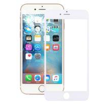 7fbb6a2efca0f3 Wewoo - Vitre blanc pour iPhone 6s Plus Lentille En Verre Externe Avec  Écran Avant Lcd