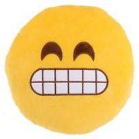 Sans Marque - Peluche Coussin moelleux Emoji Content