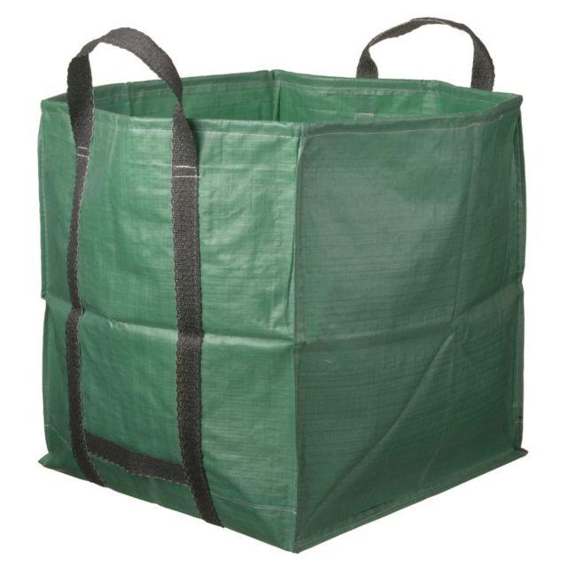 Accessoires de jardinage Magnifique Nature sac de déchet de jardin carré 325 L verte 6072401