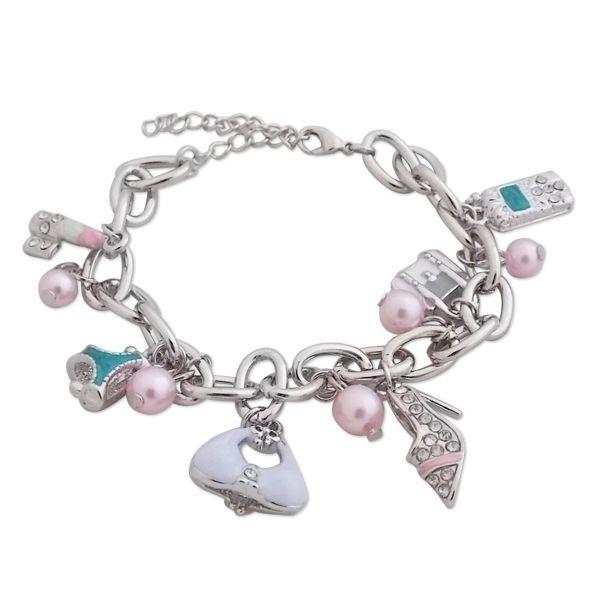 Totalcadeau - Bracelet aux accessoires de fille bijou fantaisie pas cher ce8e1686f03c
