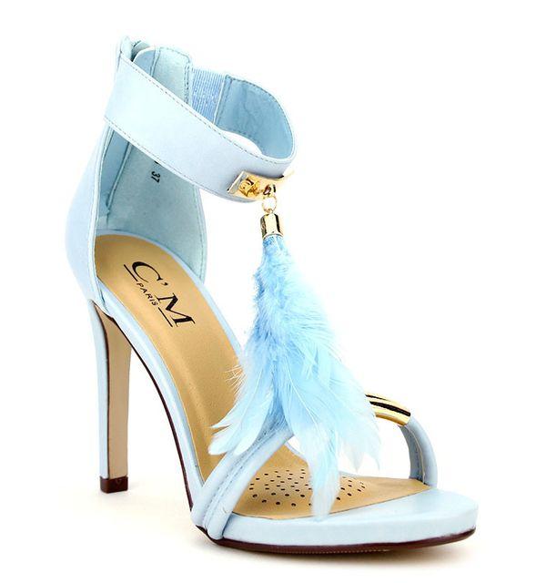 Cendriyon - Sandale Lovely Blue C M Bleu - pas cher Achat   Vente Sandales  et tongs femme - RueDuCommerce 92f9ee3531c3