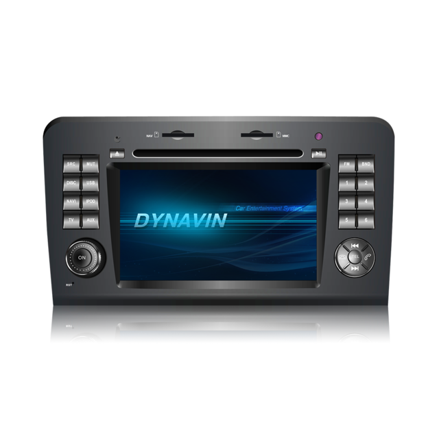 Dynavin Dvn-mbml Mercedes Ml W164 Gl X164 Autoradio Gps Tactile Version Wince N6