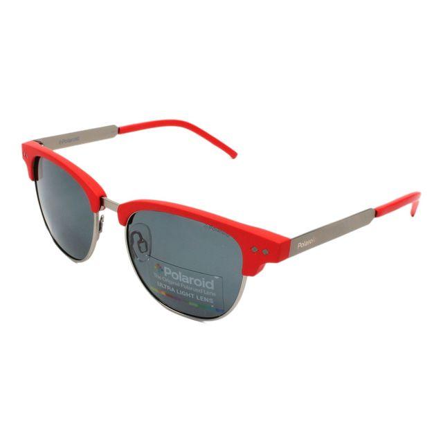 ddb080879a9b2 Polaroid - Pld-8023-S Rbl M9 Gunmetal - Rouge - Lunettes de soleil - pas  cher Achat   Vente Lunettes Tendance - RueDuCommerce