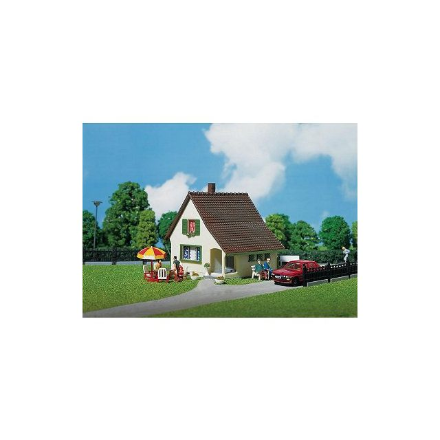 Faller mod lisme ho maison avec petit porche d 39 entr e pas cher achat vente train - Maison avec porche d entree ...