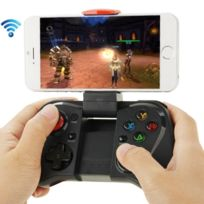 Wewoo - Manette iPhone noir pour / iPad / iPod / Samsung / Htc / Moto / Android Tv Box / Tv / Pc Bluetooth Gamepad