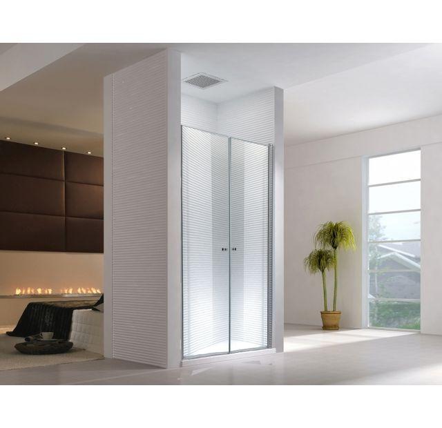 lifestyle proaktiv 155x195cm porte de niche zeus sans bac de douche transparent esg. Black Bedroom Furniture Sets. Home Design Ideas