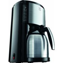 Melitta - M661-BK Sst Look Therm Selection Iii Cafetière à filtres verseuse isotherme Inox Sst 900 W
