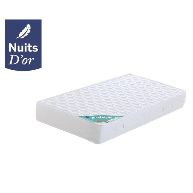 Nuits d 39 or matelas 140x190 mousses latex aertech 7 zones de confort soutien ferme 21 - Matelas latex ferme 140x190 ...