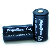 FEIYU - Batteries rechargeables 900 mAh 18350