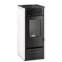Interstoves - Marina 10 Kw Blanc - Option Telecommande
