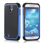 Lapinette - Coque Anti Choc Pour Samsung Galaxy S4 Mini + Film - Bleu