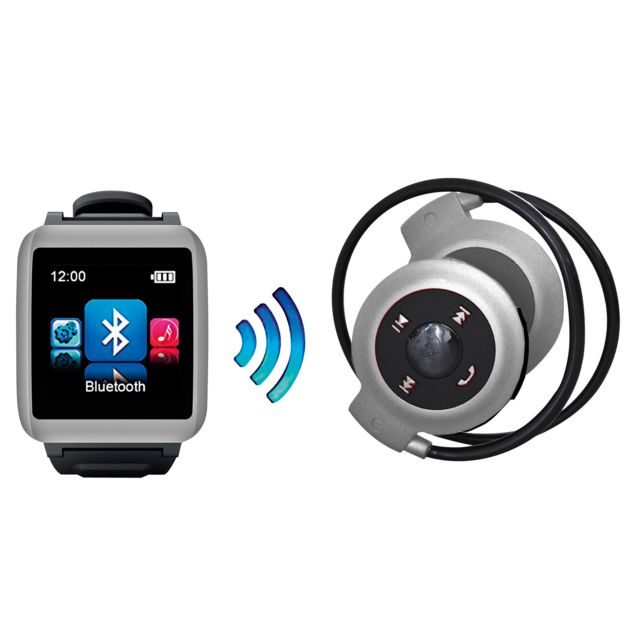 Mp man Montre Mp3 Et Casque Bluetooth