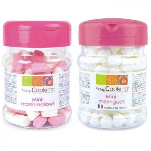 Scrapcooking Mini meringues et mini marshmallows