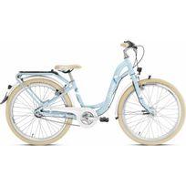 Puky - Vélo Enfant - Skyride 24-3 - Vélo enfant - Alu light Classic bleu/blanc