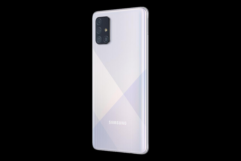 Smartphone Galaxy A71 Samsung Argent Prismatique
