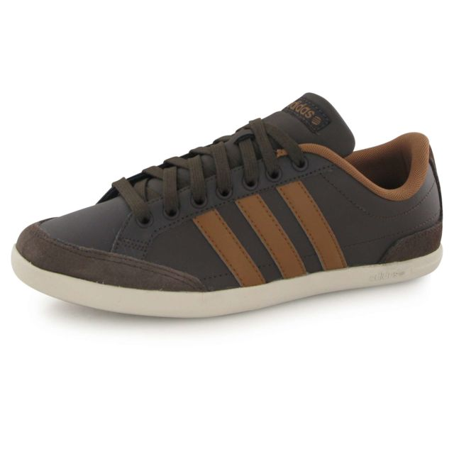 Adidas neo Caflaire marron, baskets mode homme pas cher