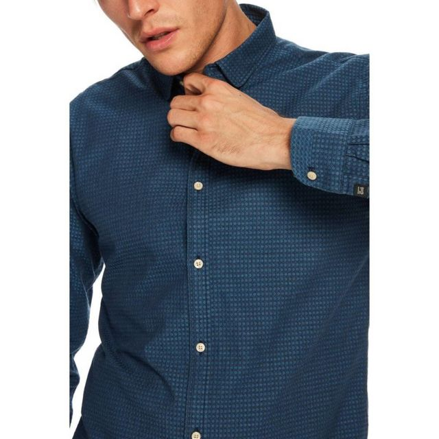 Scotch And Soda - Chemise Ml Scotch   Soda - pas cher Achat   Vente ... fde6c5e4954b