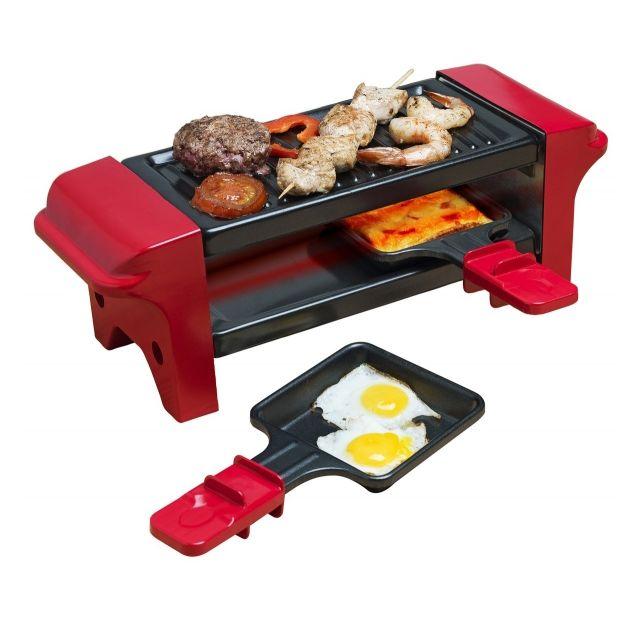 BESTRON - Duo raclette grill 2 en 1