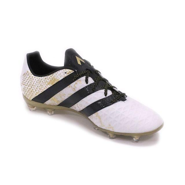 Chaussures Ace 16.2 FG Blanc Football Homme Noir 42 23