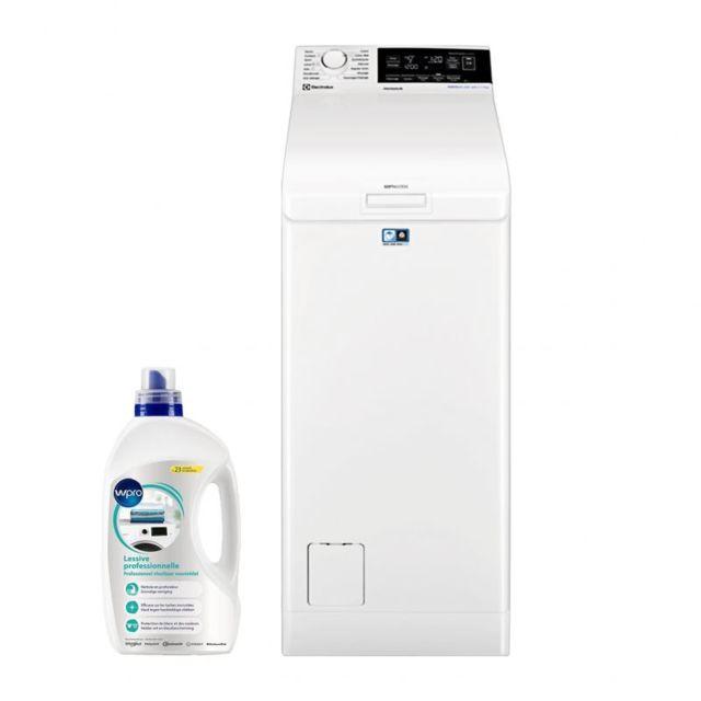 Electrolux Lave Linge Top 7KG 1300trs/min A+++ 13 programmes Machine à laver