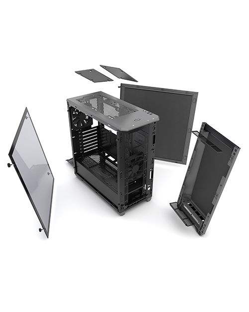 PHANTEKS - Boitier Eclipse P400S, Tempered Glass, Anthracit, Isolé