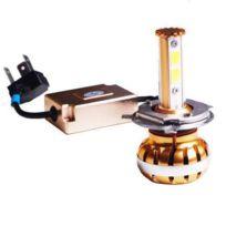 Tecnoglobe - Ampoule phare Led Tg Gold H4 12V 30/60W P43T