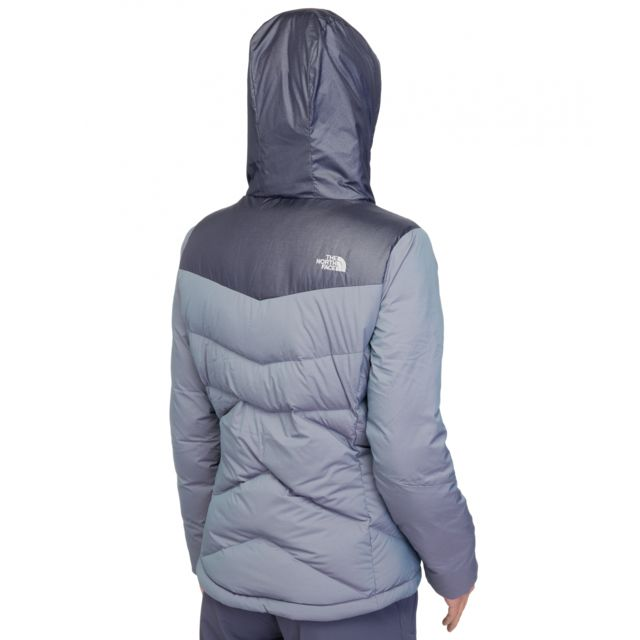 The north face Kailash Doudoune Femme Hoodie gris