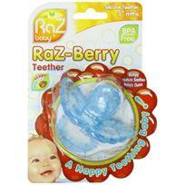 RazBaby - Raz- Berry Jouet De Dentition En Silicone Pour BÉBÉ - Bleu