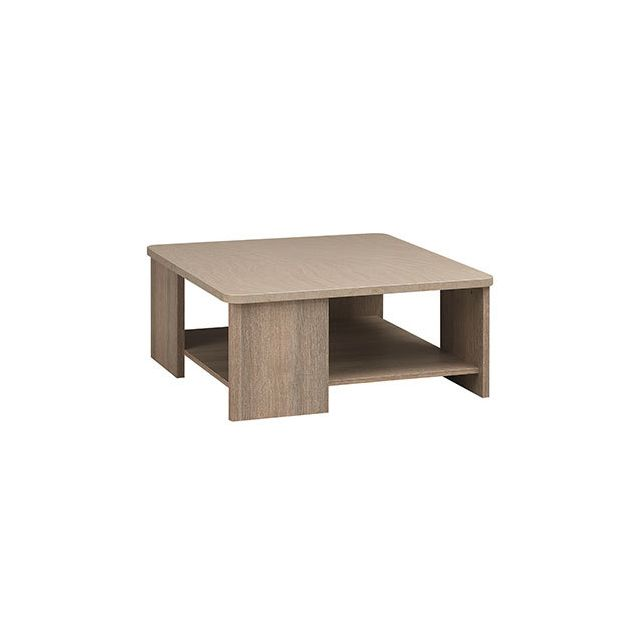 Table basse carrée 85cm naturel - Honorine